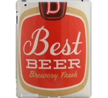 Best beer iPad Case/Skin
