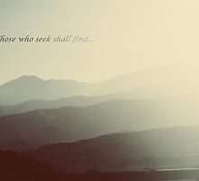 Those who seek shall find... by conformebelle