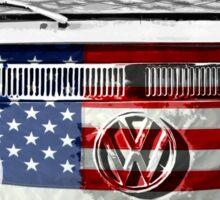 USA VW van Sticker