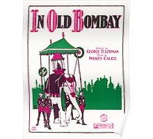 IN OLD BOMBAY (vintage illustration) Poster