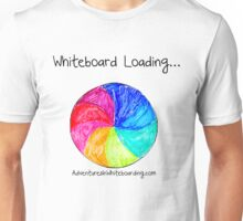 Whiteboard Loading Unisex T-Shirt