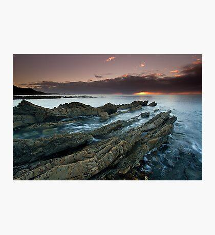 """Shale Shelves"" ∞ Rocky Cape N.P, Tasmania - Australia Photographic Print"