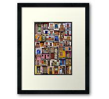 Doorway to Latin America Framed Print