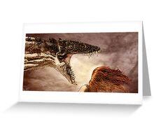 Dragon Breath Greeting Card