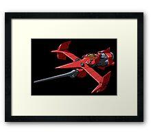Swordfish in Space Framed Print