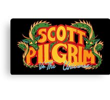 Scott Pilgrim vs. The Universe Canvas Print