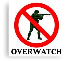 CS:GO Overwatch Logo Canvas Print