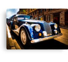 The Morgan Plus 8 in backlight Canvas Print
