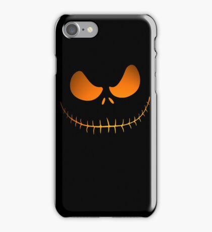Nightmare pumpkin iPhone Case/Skin