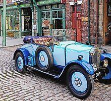 Vintage sports car by MrMild