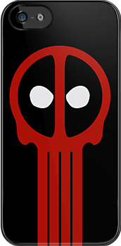 Insane Vigilante! (iPhone Case) by Malc Foy