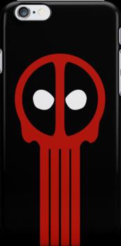 Insane Vigilante! (iPhone Case) by maclac