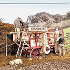 Victorian threshing machine by MrMild