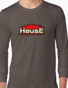 Vintage House Long Sleeve T-Shirt