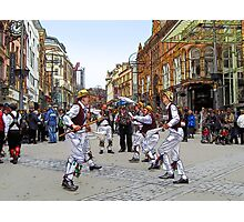 Morris dancers Photographic Print