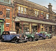 Vintage cars by MrMild
