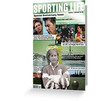 Sporting Life 2008 Greeting Card