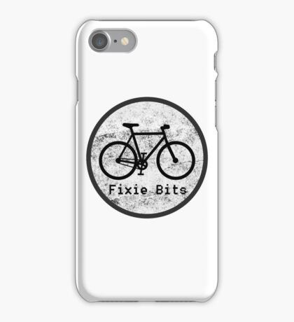 Fixie Bits V1 iPhone Case/Skin