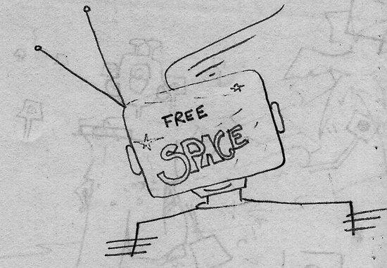 Free Space On Spacebook 1996 by Robert Phillips