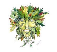 The Green Man by Claire Aberlé