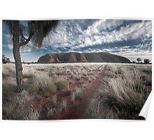 Sleeping Giant - Uluru, NT Poster