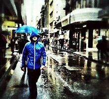 Blue rain by sebastian