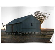 Old Farm Shed Poster
