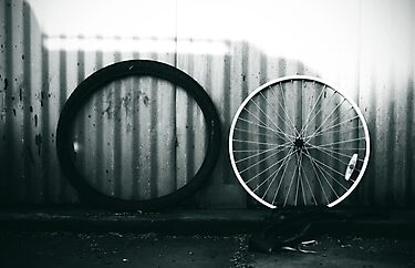The Wheels by Ruben D. Mascaro