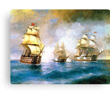 Colorful Seascape b Canvas Print