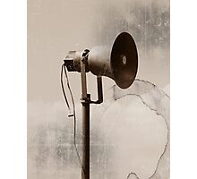 Can you hear me..... Photographic Print