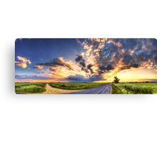 Hungarian skies pt.LXXVIII. Canvas Print