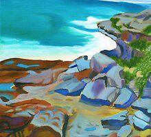 Bronte Rocks by Lynette Leftwich