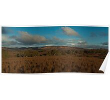 Flinders - View from Moralana Scenic Drive Poster