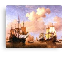 Colorful Seascape e Canvas Print