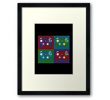 4 Players Framed Print