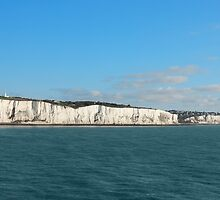 Last cliffs of the United Kingdom near Dover by kirilart