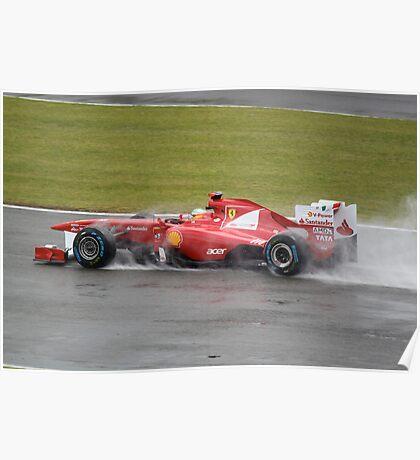 Fernando Alonso Poster