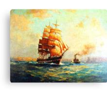 Colorful Seascape g Canvas Print