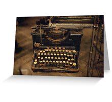 type type type Greeting Card