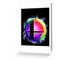 Smash Ball Greeting Card