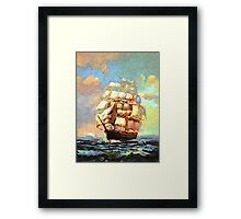 Colorful Seascape h Framed Print