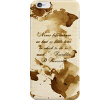 Thought For Every Day 2 iPhone Case/Skin
