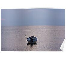 Alone On The South China Sea. Poster