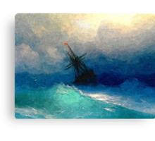 Colorful Seascape i Canvas Print