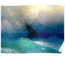 Colorful Seascape i Poster