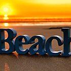 Beach Sunset Scotland by derekbeattie