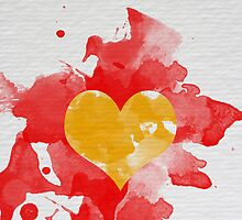 Color heart by rafo