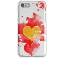Color heart iPhone Case/Skin