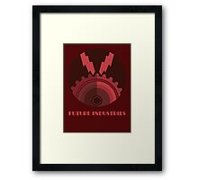 Future Industries Framed Print