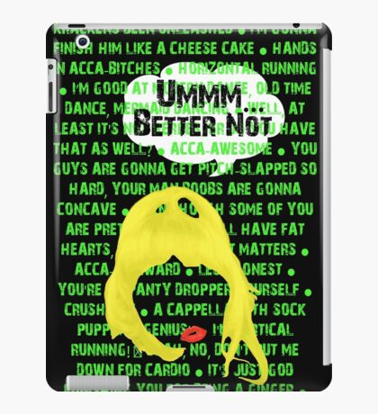 FAT AMY iPad Case/Skin
